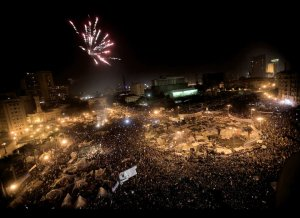 Mubarak Ousted! Two Down, Twenty To Go . . .