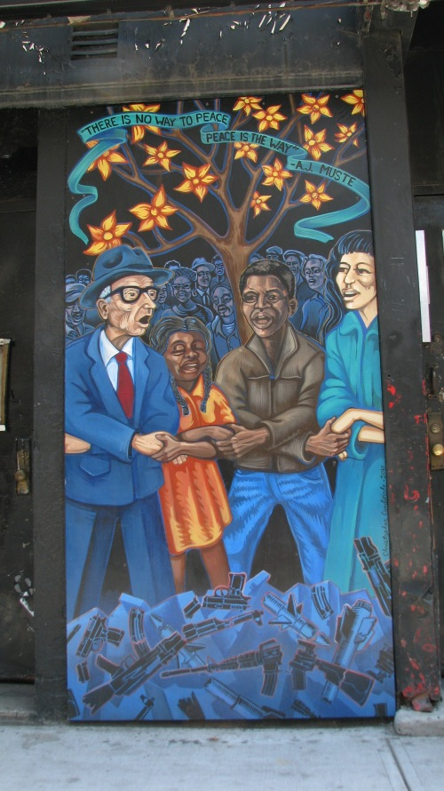 A.J. Muste Peace Mural Dedication